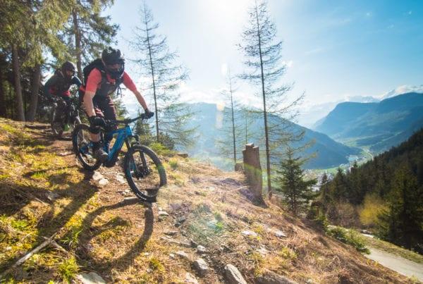 Mountain Biking in Verbier
