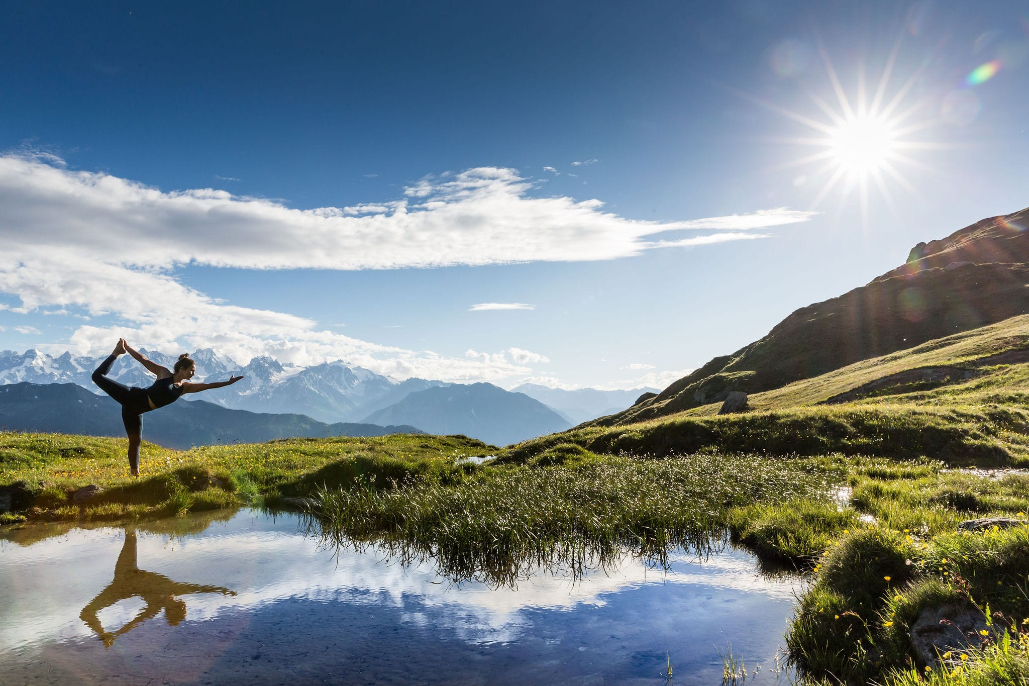 Yoga retreats and classes in Verbier
